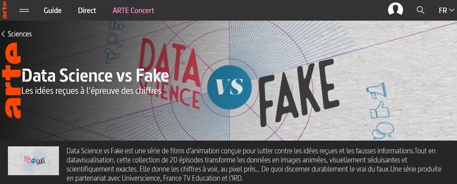 Data Science vs Fake