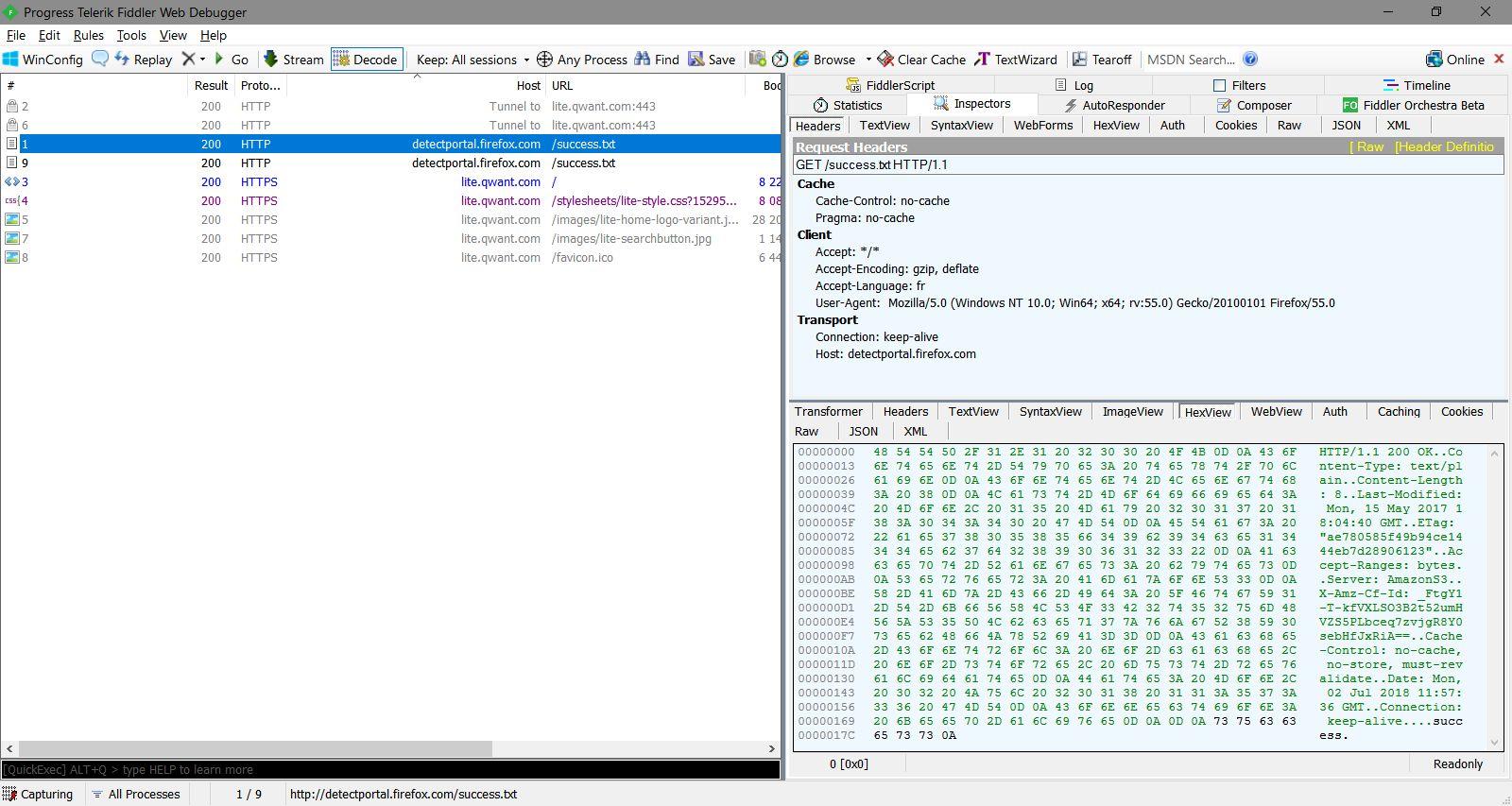 Detectportal.firefox.com : un nième outil de tracking dans Firefox ?