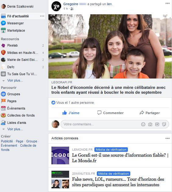 Facebook et la police de la pensée