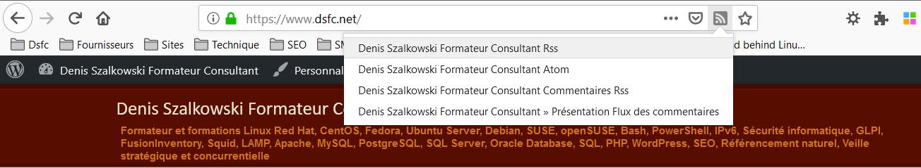 Le retour de la détection des flux RSS dans Firefox avec RSSPreview