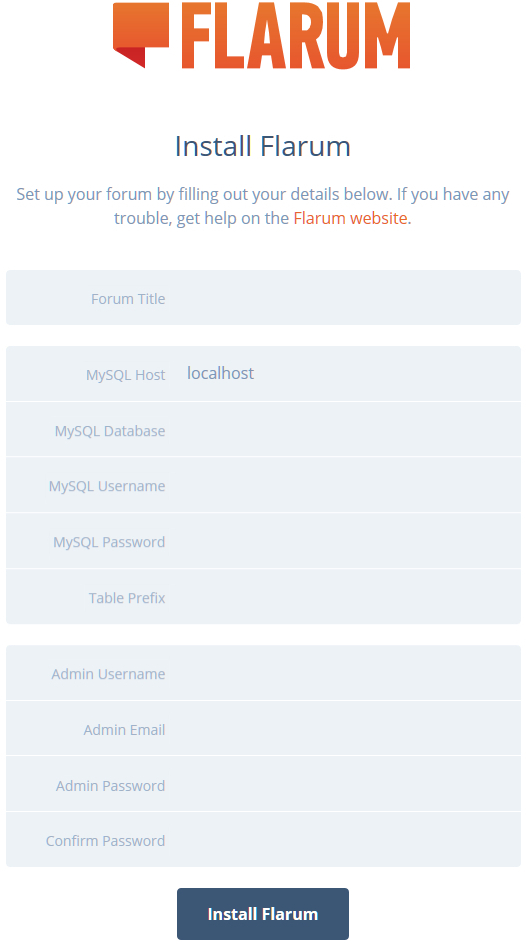 Un forum avec Flarum