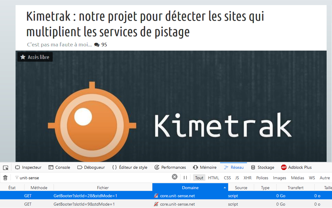 Le tracking chez Next INPact