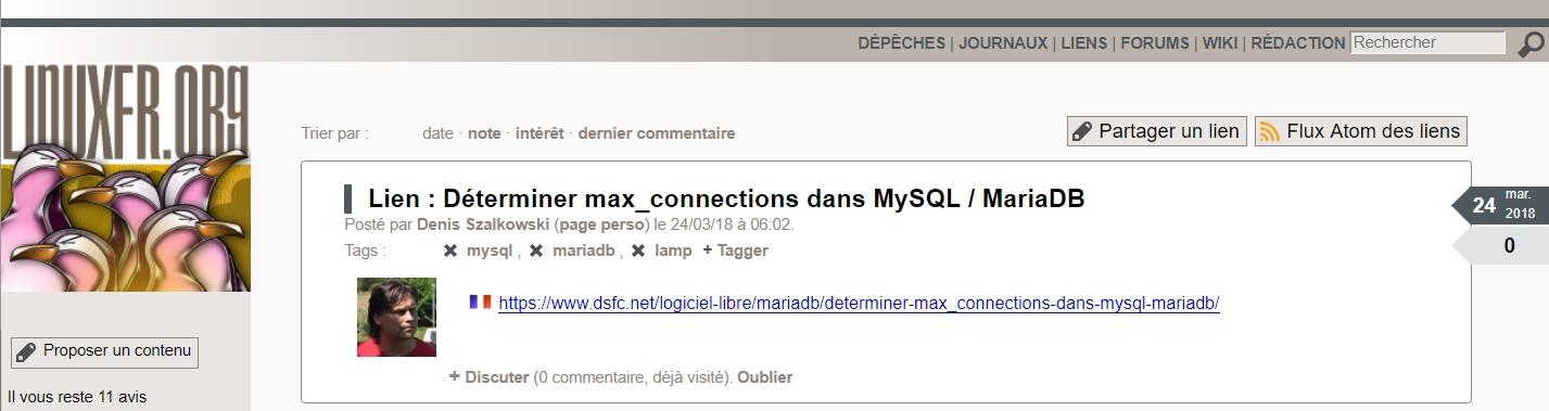 Proposer des liens sur LinuxFr.org