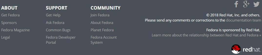 Derrière Fedora, Red Hat omniprésent !