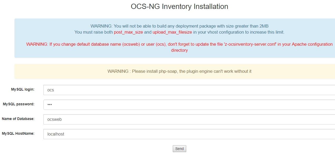 Installation de OCS Inventory Reports