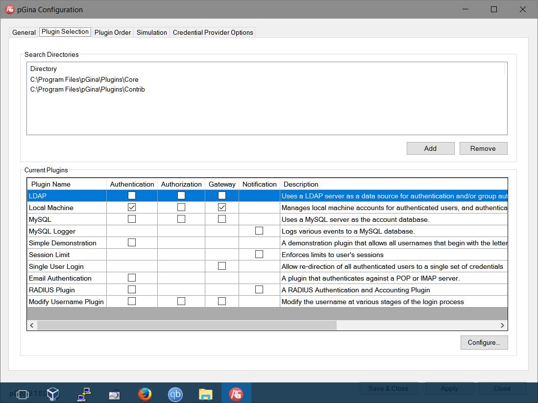 pGina et OpenLDAP pour remplacer Active Directory ?