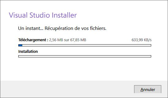 Télécharger Visual Studio Community 2017