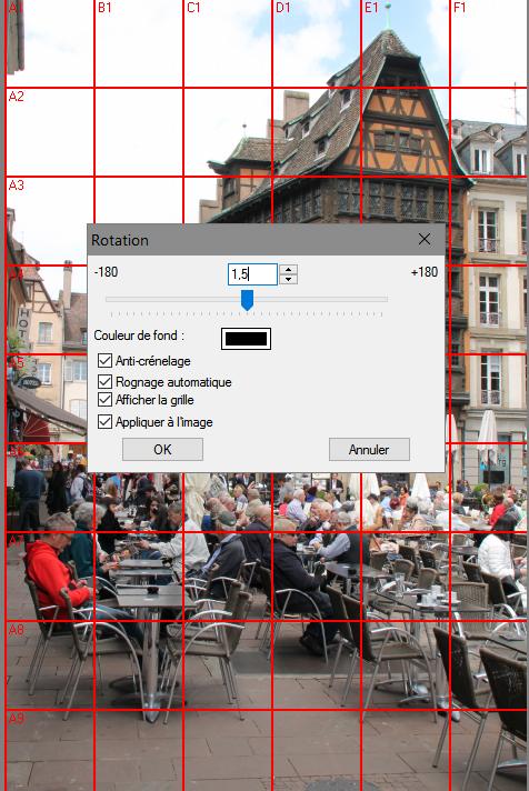Image > Rotation > Libre
